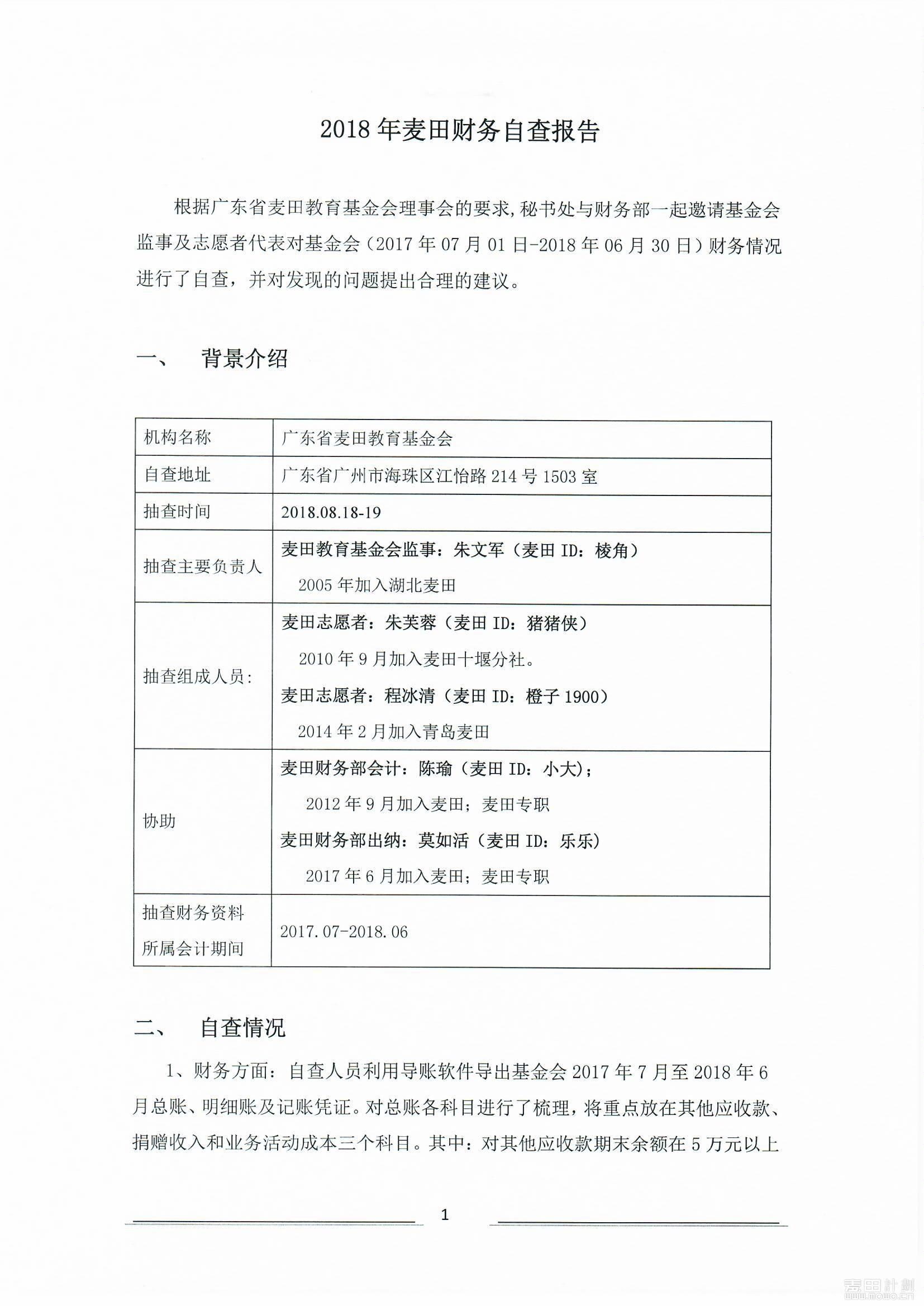 2018年麦田财务自查报告_页面_1.jpg